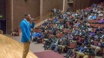 On April 29, the faculty at the Center for Multicultural Excellence hosted the 7th annual Black Male Initiative Summit. Photo Courtesy of University of Denver Facebook Page