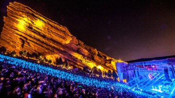 Red Rocks concert season is about to begin, and this year shouldn't disappoint with concerts from local acts, those who rarely tour and international stars. Photo courtesy of goldstar.com.