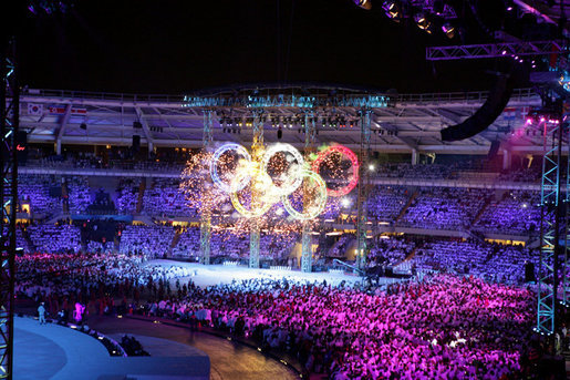 International Olympic Committee chief urges sports court reform after Russian Federation bans lifted