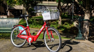 B-cycle has recently chosen to dismantle DU's B-cycle program due to low usage.  Photo courtesy of Kevin Zolkiewicz.