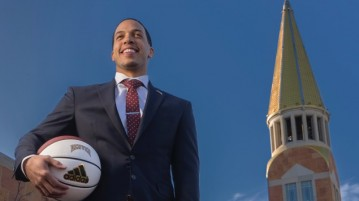 Rodney Billups, previously an assistant men's basketball coach at CU, joined DU this year.  Photo courtesy of the University of Denver.