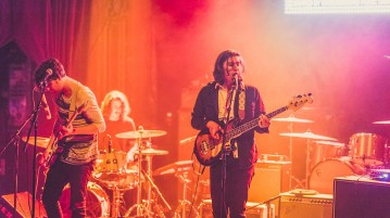 Local psych rock band Flaural stands out in a Denver music scene over-saturated with psychedelic rock, as evidenced in their show Saturday night at the Bluebird.  Photo courtesy of heyreverb.com