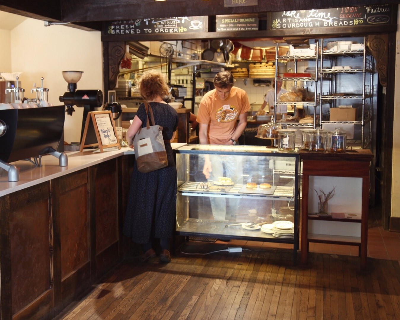 First Ascent Coffee and Mountain Oven Bakery is a must during your visit to the small ski town. Andrea Watson | Clarion