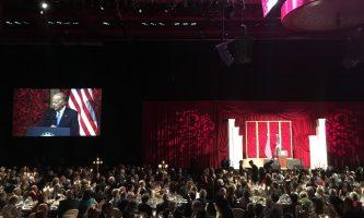 Vice President Joe Biden visits DU at the annual Korbel Dinner