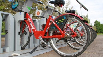 DU is looking into other options to replace the B-cycle station that was on campus. Photo by Dazong Chen | Clarion