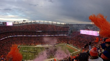 The Denver Broncos' home turf, Sports Authority Field at Mile High. Photo courtesy of Hanna Mikols
