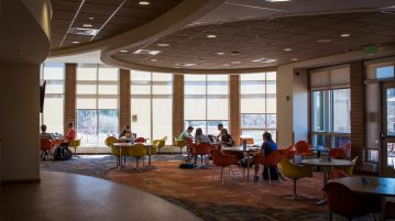Anderson Academic Commons is a perfect study location, day or night. Gusto Kubiak | Clarion