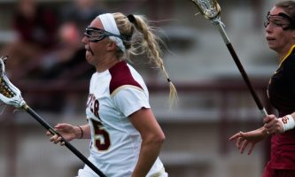 Women's lacrosse upsets No. 12 Stanford