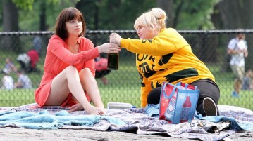 "Dakota Johnson (""Fifty Shades of Grey"") and Rebel Wilson (""Pitch Perfect 2"") star in ""How To Be Single,"" premiering this Valentine's Day weekend. Photo courtesy of celebmafia.com"