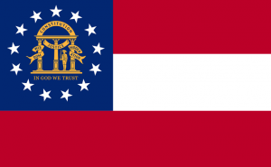 new georgia flag