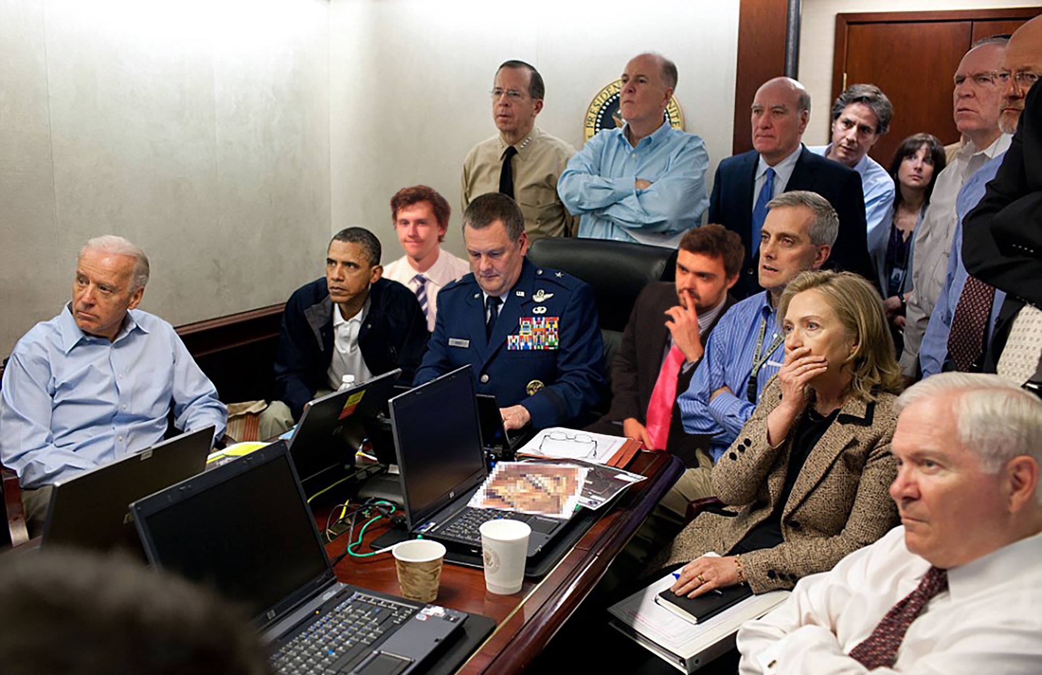situation room chak norris