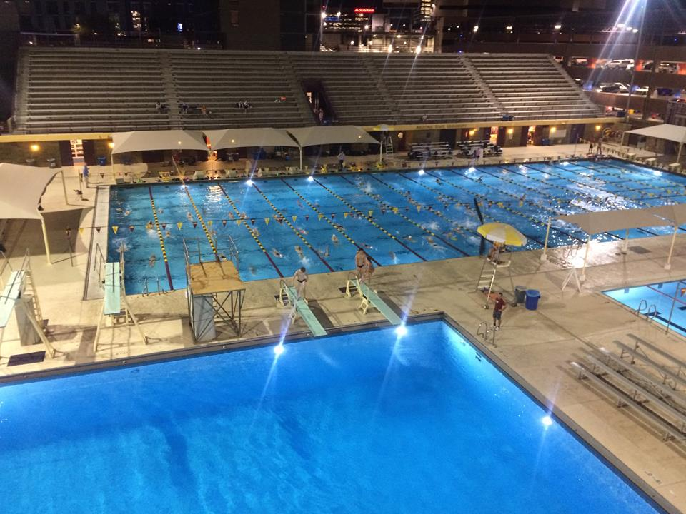 Swimming And Diving Fall To Arizona State Du Clarion